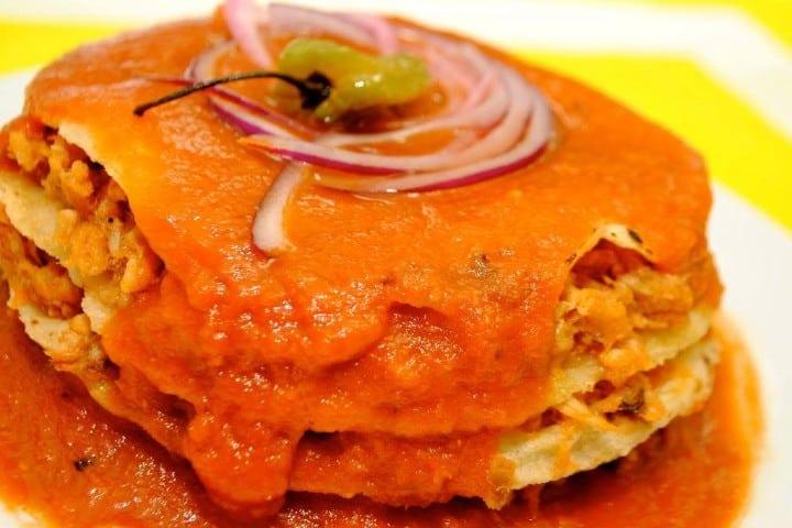 Tacos de cazón Campeche. Foto: Ciudades Mexicanas Patrimonio Mundial