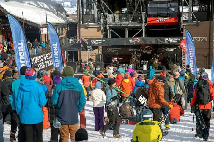 Tetom Village Jackson Hole Ski Foto JHMR