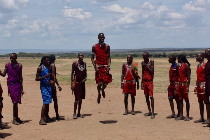 Tribu Masái. Foto: Jack Carter