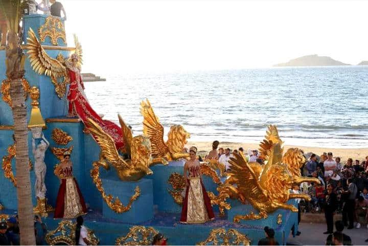 Una vista espectacular desde el Carnaval de Mazatlán Foto Noroeste