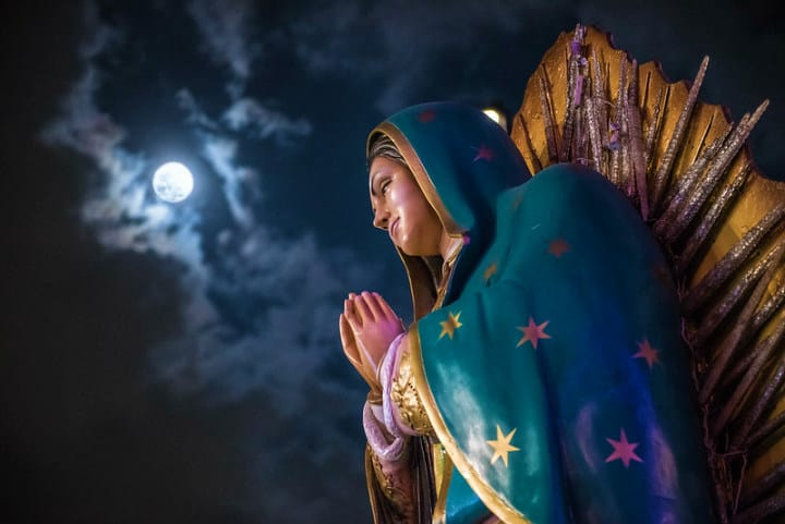 Vírgen de Guadalupe Foto Eneas De Troya