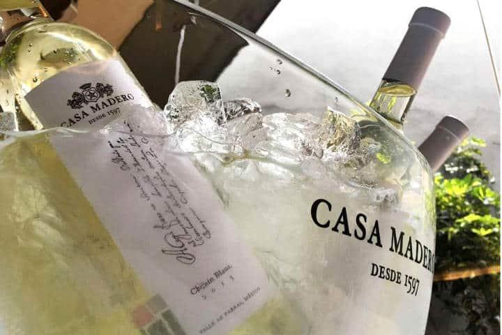 Vino Blanco Foto Casa Madero