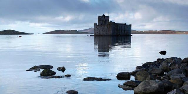 Castillo de Eilean Donan, Escocia, Foto Archivo.