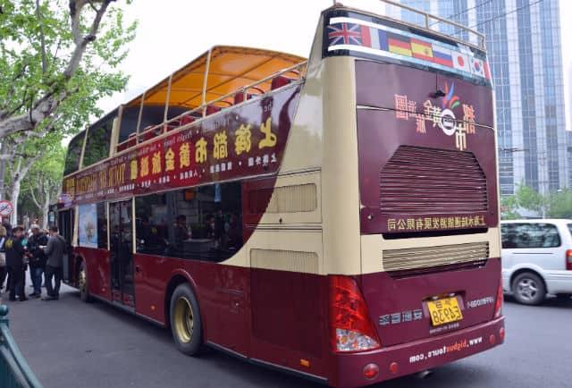 Tour Hop On Off en Ciudades Shanghai. Foto Archivo.