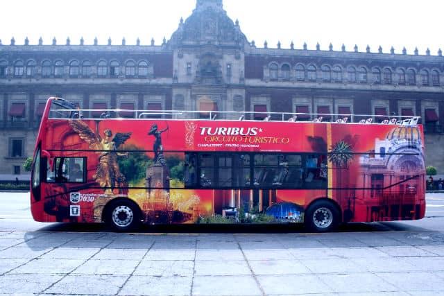 Turibus México. Foto Archivo.