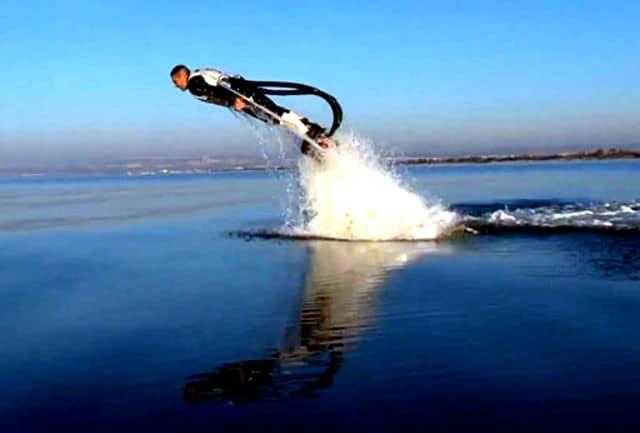 Flyboard. Foto Archivo.