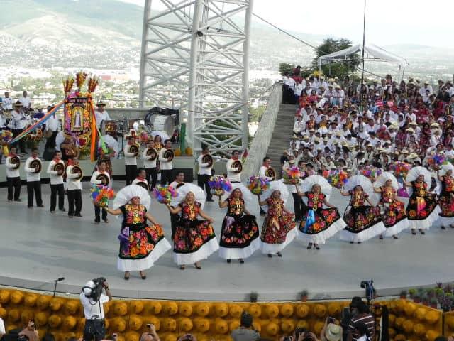 Guelaguetza Fiesta de Ofrenda. Oaxaca. Imagen: archivo