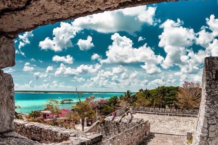 Fuerte de San Felipe Bacalar. Foto: avoyaqui Atractivos en Bacalar Quintana Roo