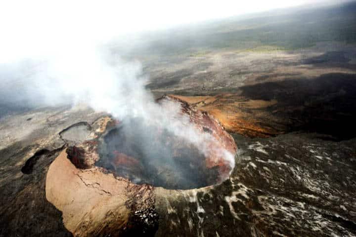 Volcán Kilauea. Foto www.yunphoto.net.