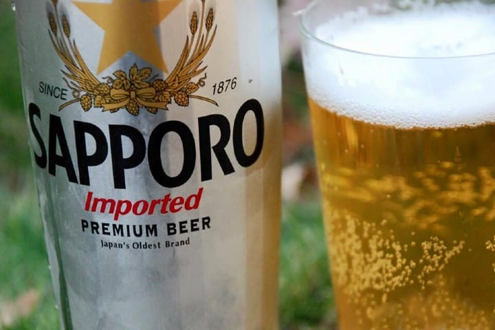 Cerveza Sapporo Japon FOTO: Flickr