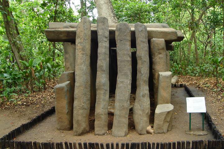 Tumba Olmeca Museo de la Venta en Tabasco FOTO:Erixco