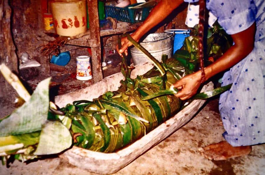 El zacahuil es uno de los mejores tamales de México.