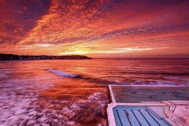 Amanecer en Bondi Beach. Foto Pinterest.