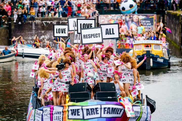 Amsterdam celebra el mes pride. Foto. NBC News. 4