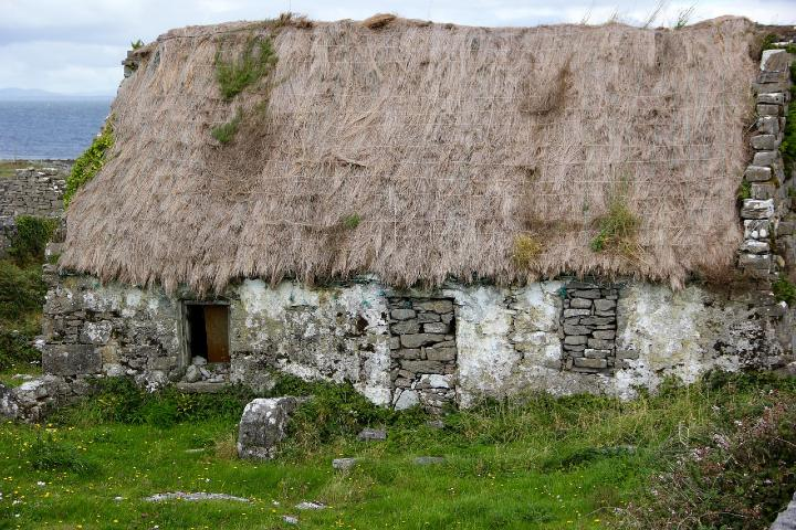 Antigua casa irlandesa. Foto marybettiniblank