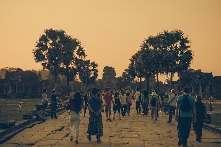 Aquí se puede apreciar la afluencia de turistas. Foto nguyentuanhung