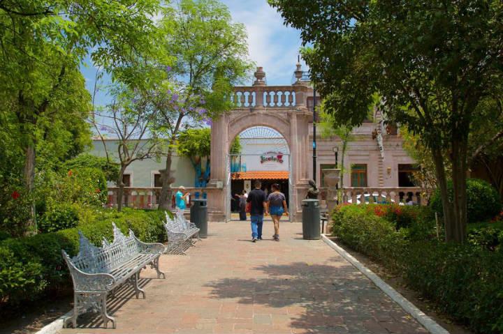 Jardín de San Marcos. Foto Ayuntamiento de Aguascalientes.