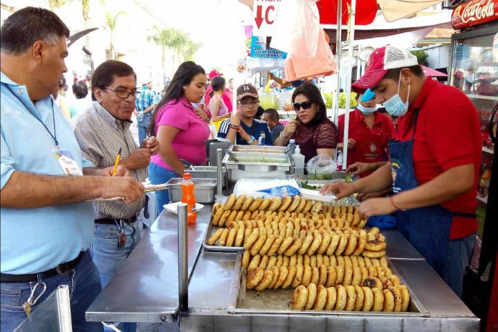 Mercado en el barrio de San Marcos en Aguascalientes. Foto BI NOTICIAS.