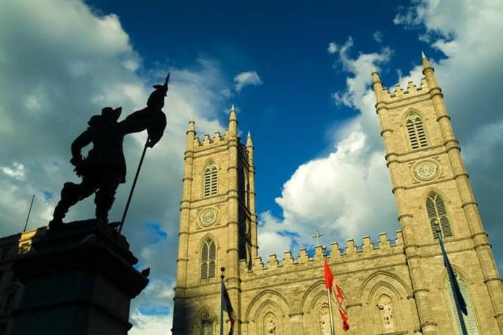 Basílica Montreal. Foto Archivo