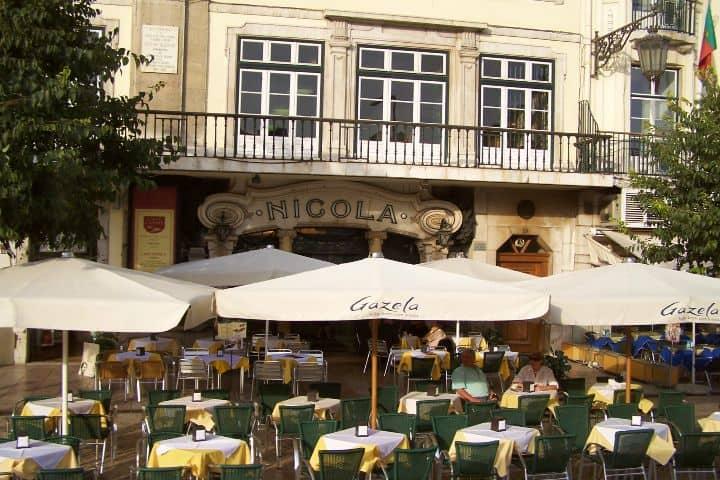 Café Nicola. Foto: viajejet.com