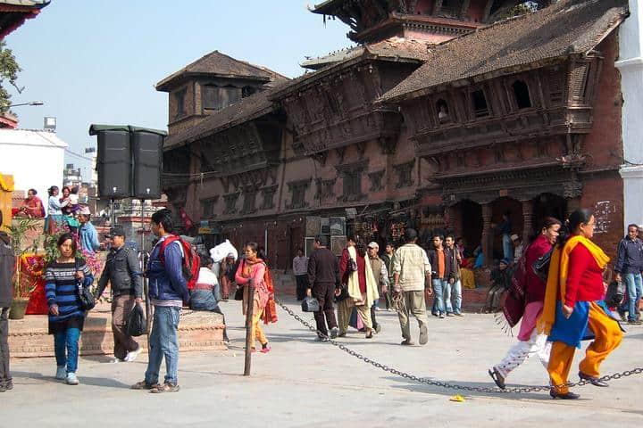 Calles Katmandul