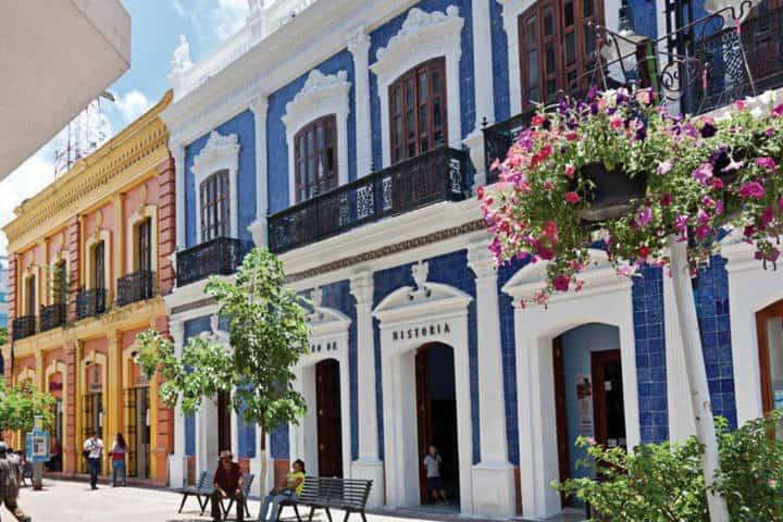 Calles de Villahermosa Tabasco. Foto Archivo 2