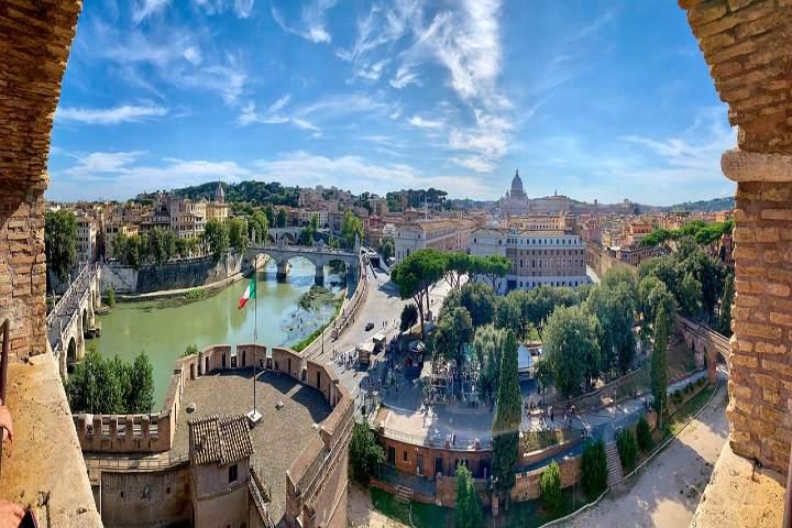 Castillo Sant Angelo en Roma. Foto Pixabay
