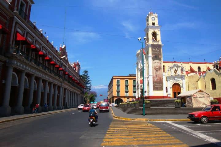 Centro histórico de Xalapa.Foto.Mapio.2