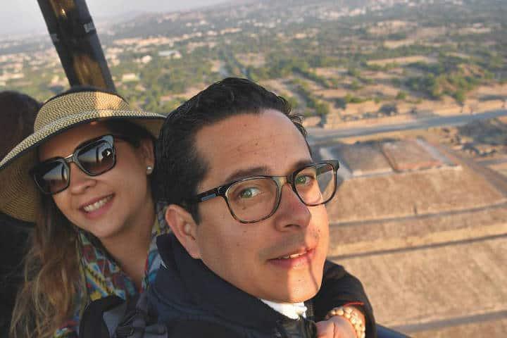 Cita en las alturas. Teotihuacán. Foto Archivo 4