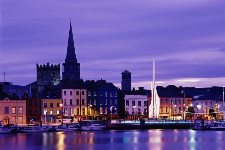 Ciudad de Waterford, Irlanda. Foto. Erasmusu