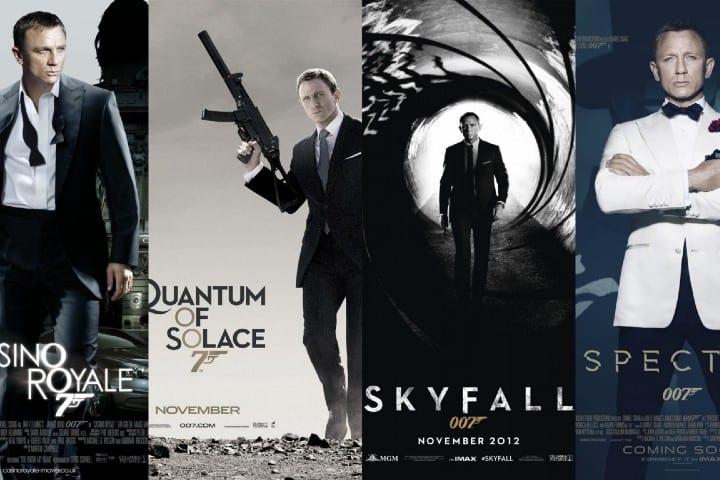Saga 007: James Bond foto: Portadas de la pelicula Saga 007: James Bond