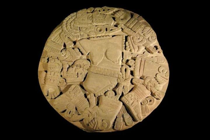Coyolzauhqui deidad xochimilca del fuebo Foto Tonalpohualli260