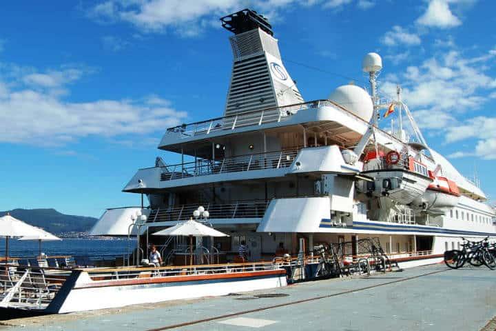 Cruceros de lujo. Puerto de salida. Imagen: Miramar