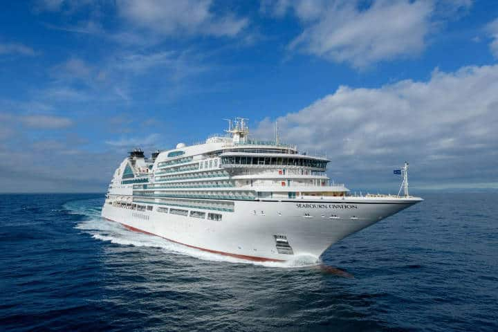Cruceros de lujo. Seabourn Cruises. Imagen: Medias