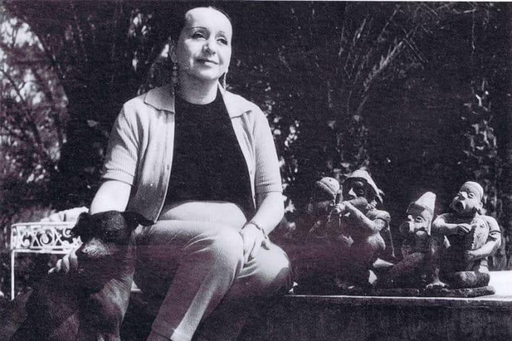Doña Lola Olmedo tuvo una vida tan audaz como polémica Foto MXCity