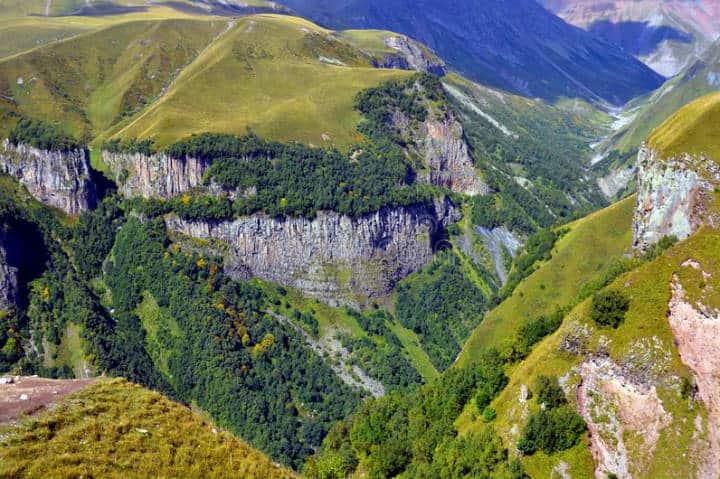 Cordillera del Gran Cáucaso, Juegos olímpicos de invierno en Sochi. Foto Dreamstime.