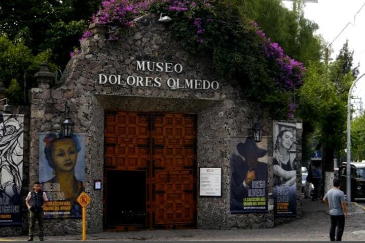 E Museo Dolores Olmedo se ubica al sur de la CDMX en Xochimilco Foto Hartii