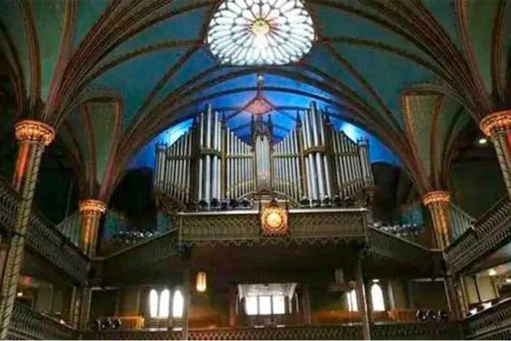 Órgano, Iglesia Notre Dame en Montreal. Foto El Horizonte.