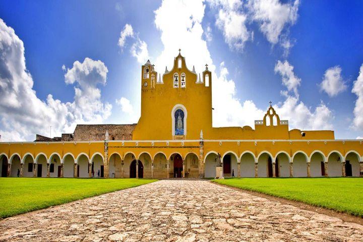 El portal único del gobierno Foto: Pueblo Mágico Izamal en Yucatán