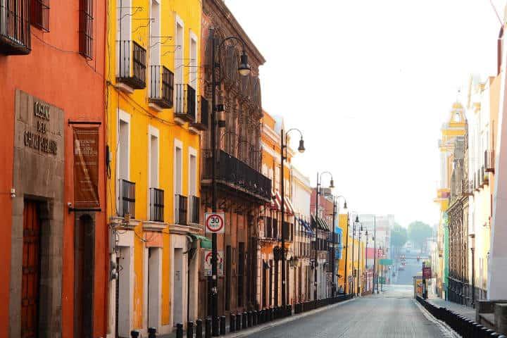 En las calles de Puebla. México. Foto Archivo 1
