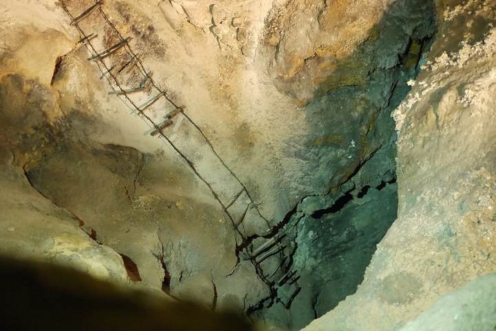 Entrada a las cavernas de carlsbad