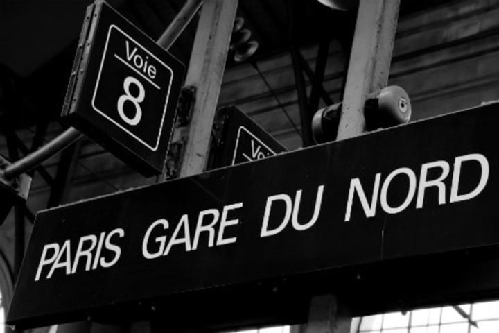 Estación Gare Du Nord del Eurostar. Foto Archivo