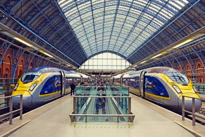 Eurostar después de 20 años. Foto Global Railway Review.