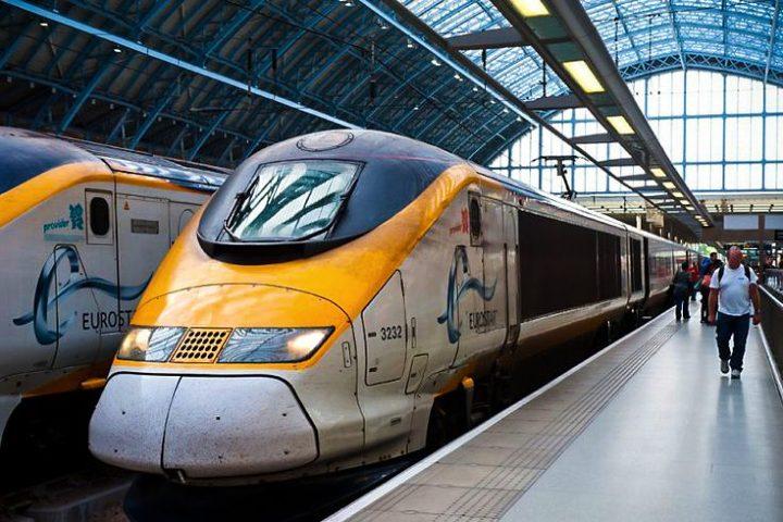 Eurostar después de 20 años. Foto Rail.