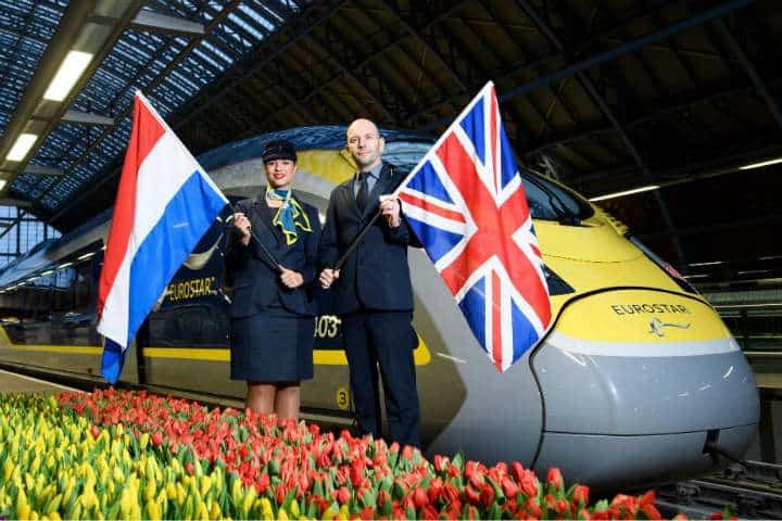 Eurostar une dos naciones aún despues de 20 años.Foto.South Western Times.2