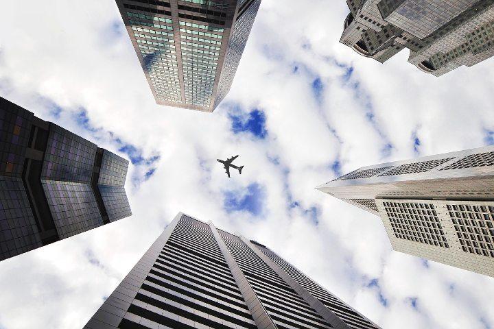 Flightradar24 el rastreador de vuelos. Foto Pixabay.