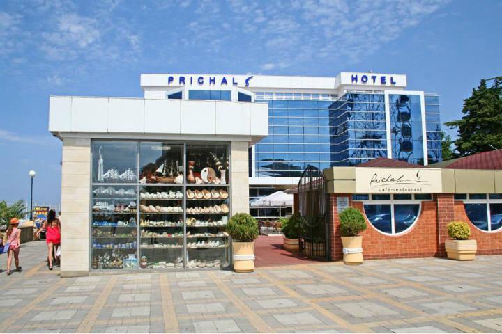 Hotel Prichal, Sochi. Juegos olímpicos de invierno en Sochi. Foto Flyin.