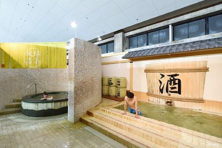 Yunessun Spa resort.Foto JAPANKURU