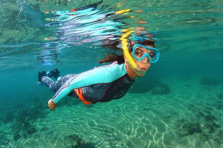 Practica snorkel y disfruta de la diversidad de especies del lugar.Foto Jose Martín Piñatel