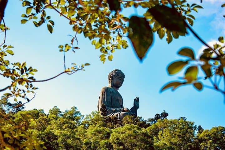 Buda Tian Tan.Foto konkarampelas